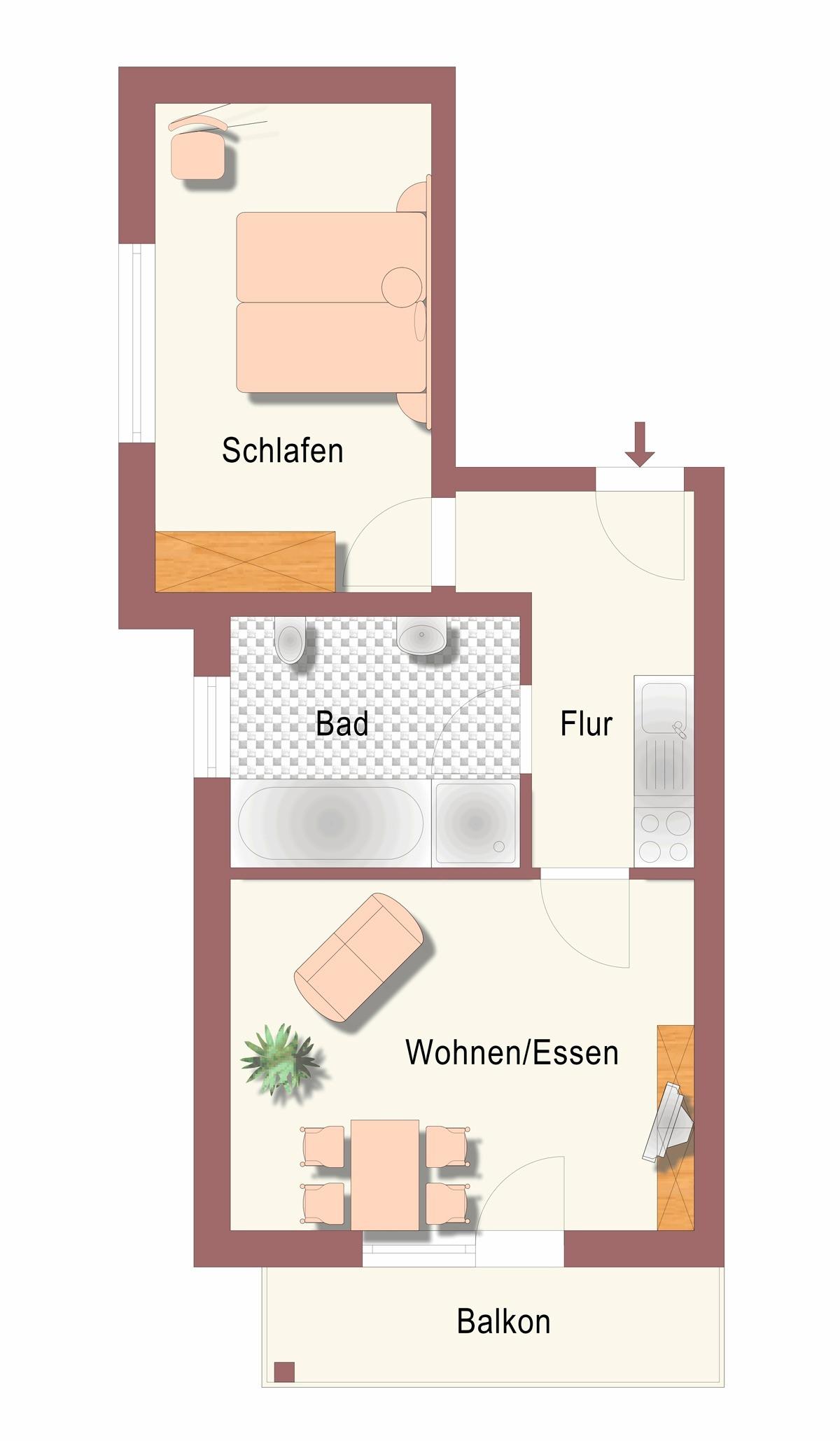 Ferienwohnung Ferienhof Arold Zwitscherstübchen (1894973), Creglingen, Taubertal, Baden-Württemberg, Deutschland, Bild 4