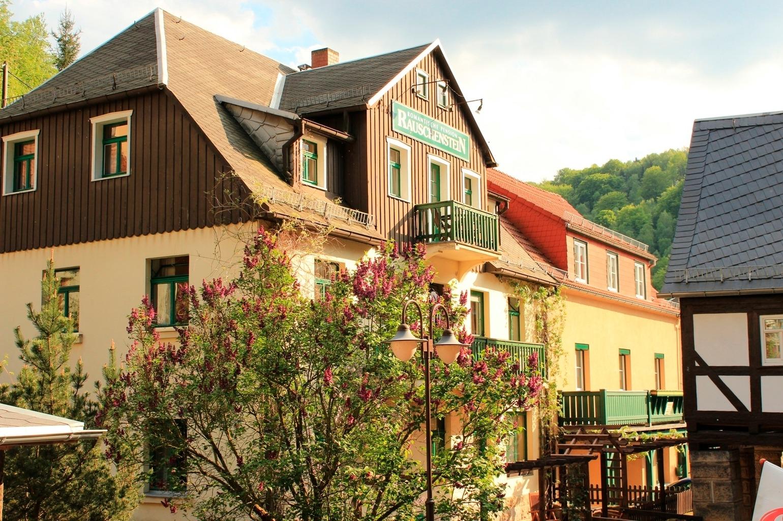 Pension Rauschenstein Ferienwohnung in Sachsen