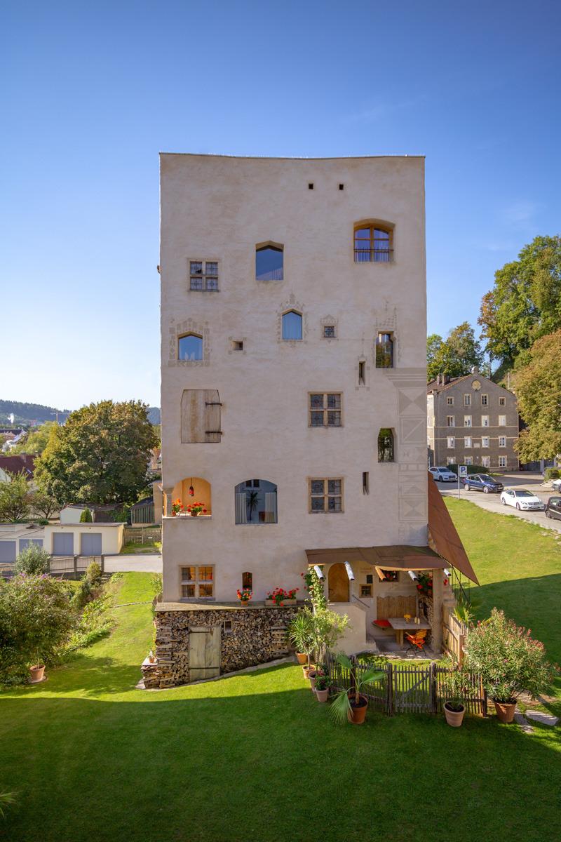 Freiherrnstubn im Turm zu Schloss Schedling, Chiemgau