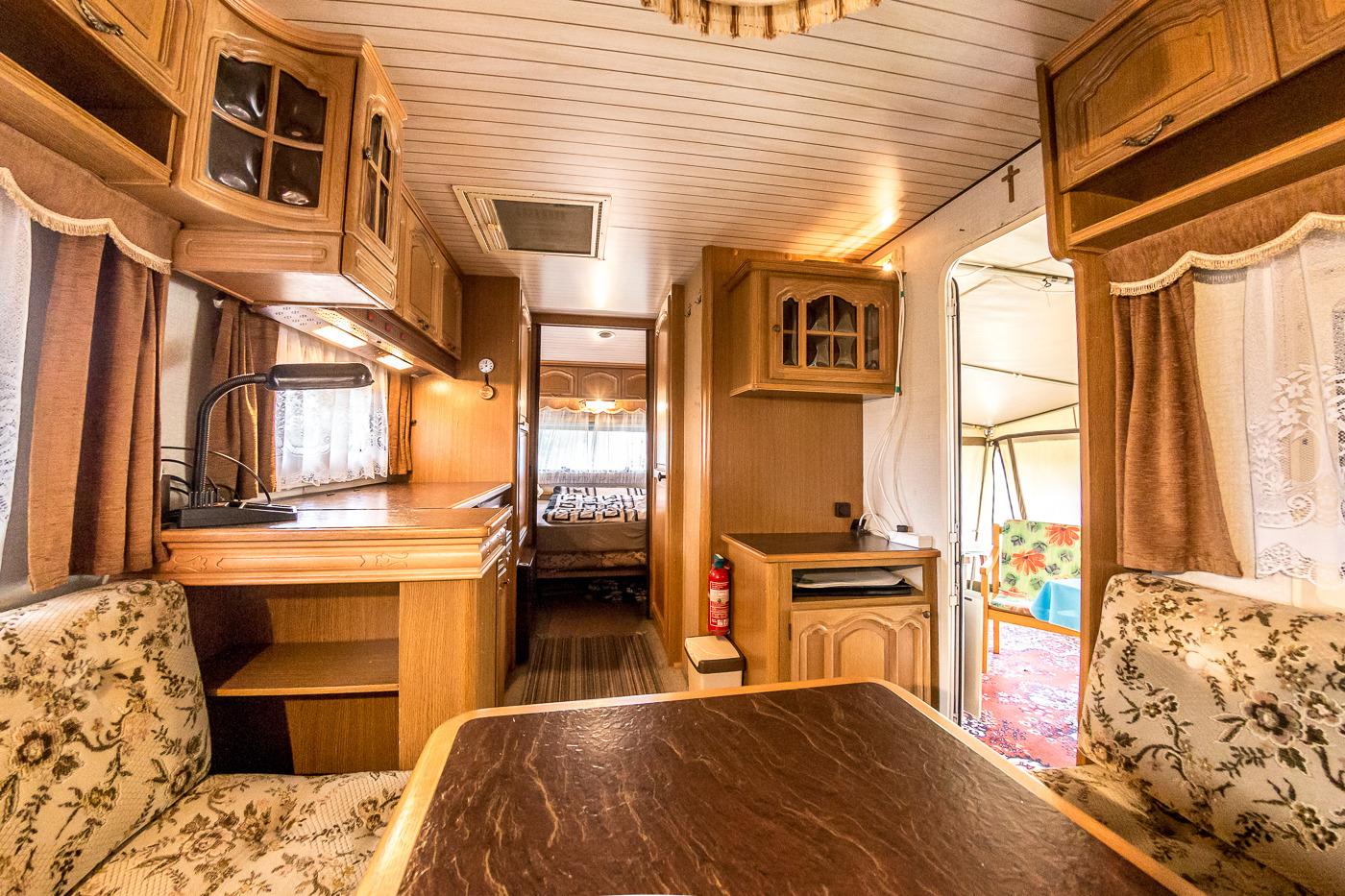 Caravan Hünstein 2 Ferienwohnung in Thüringen