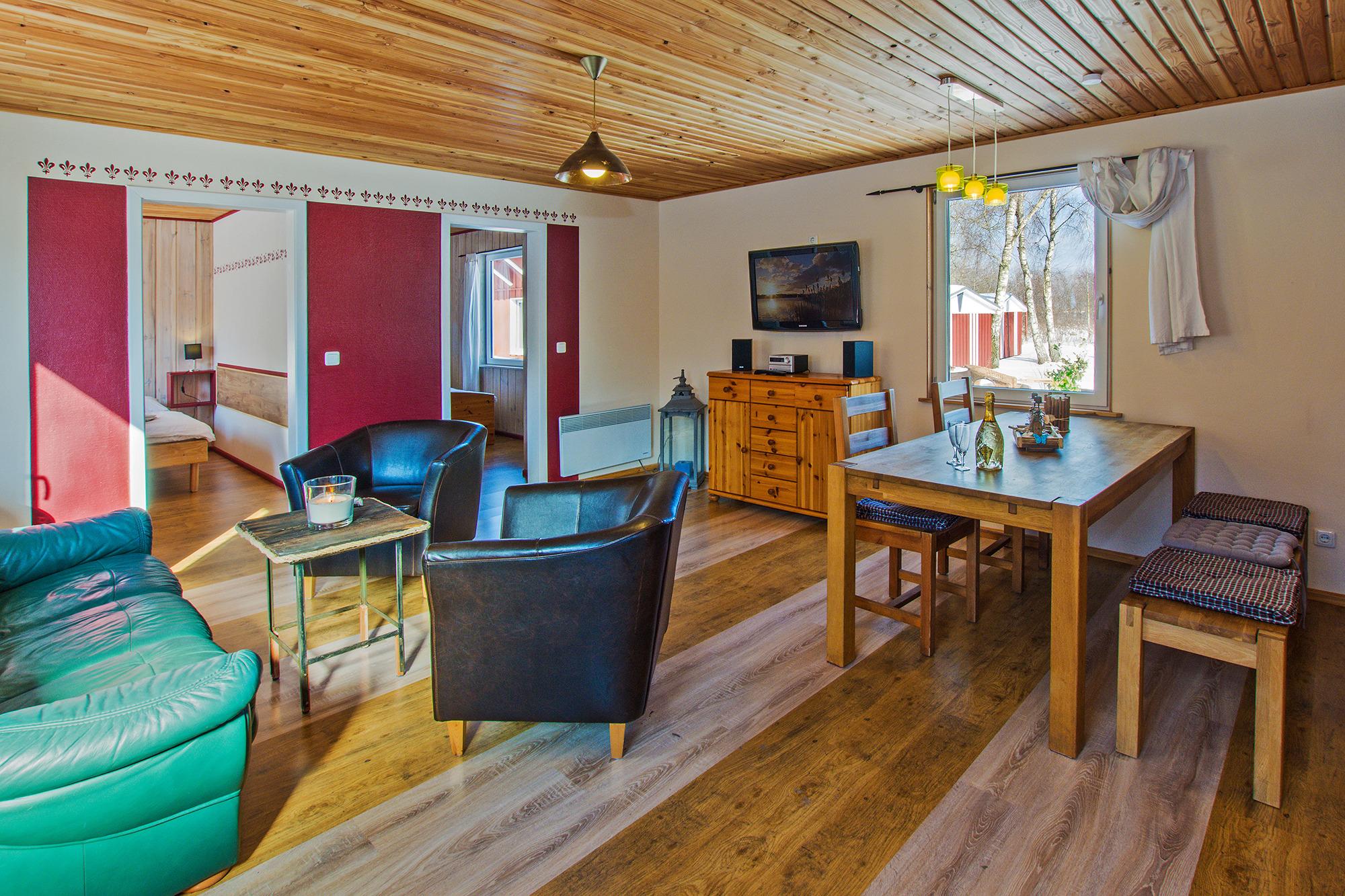 Herzmuschel Ferienhaus auf Usedom