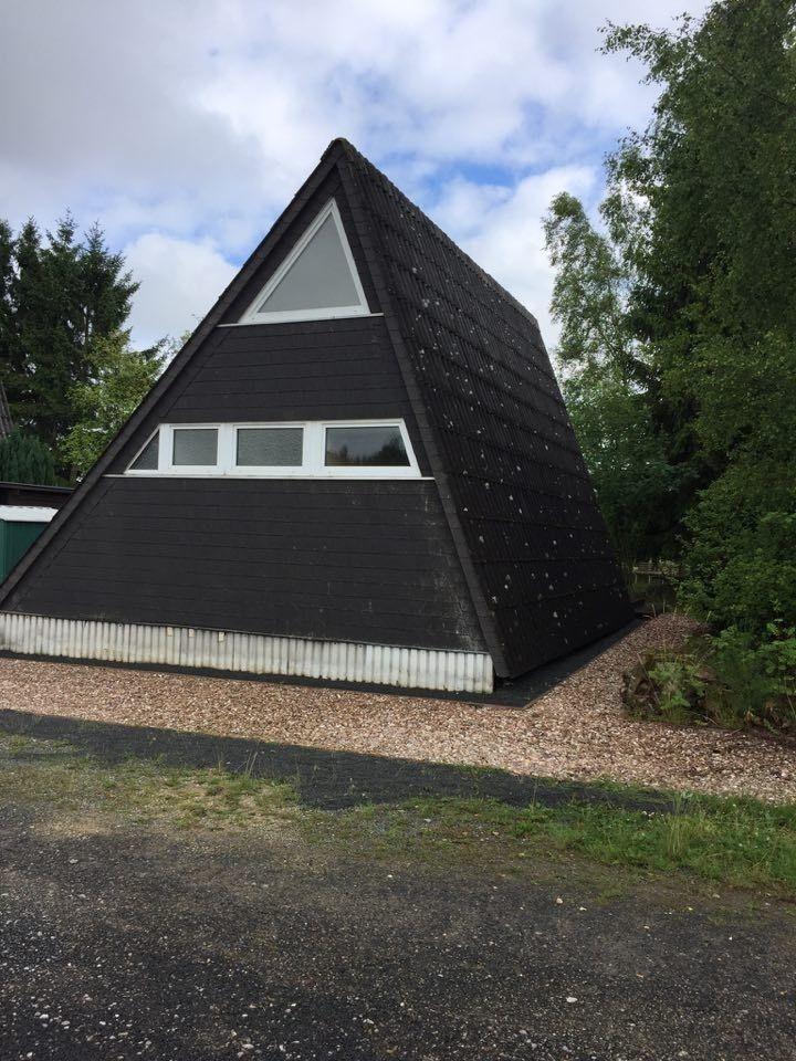 Familienfreundliches Ferienhaus mit Waldrand Lage Ferienhaus in der Eifel