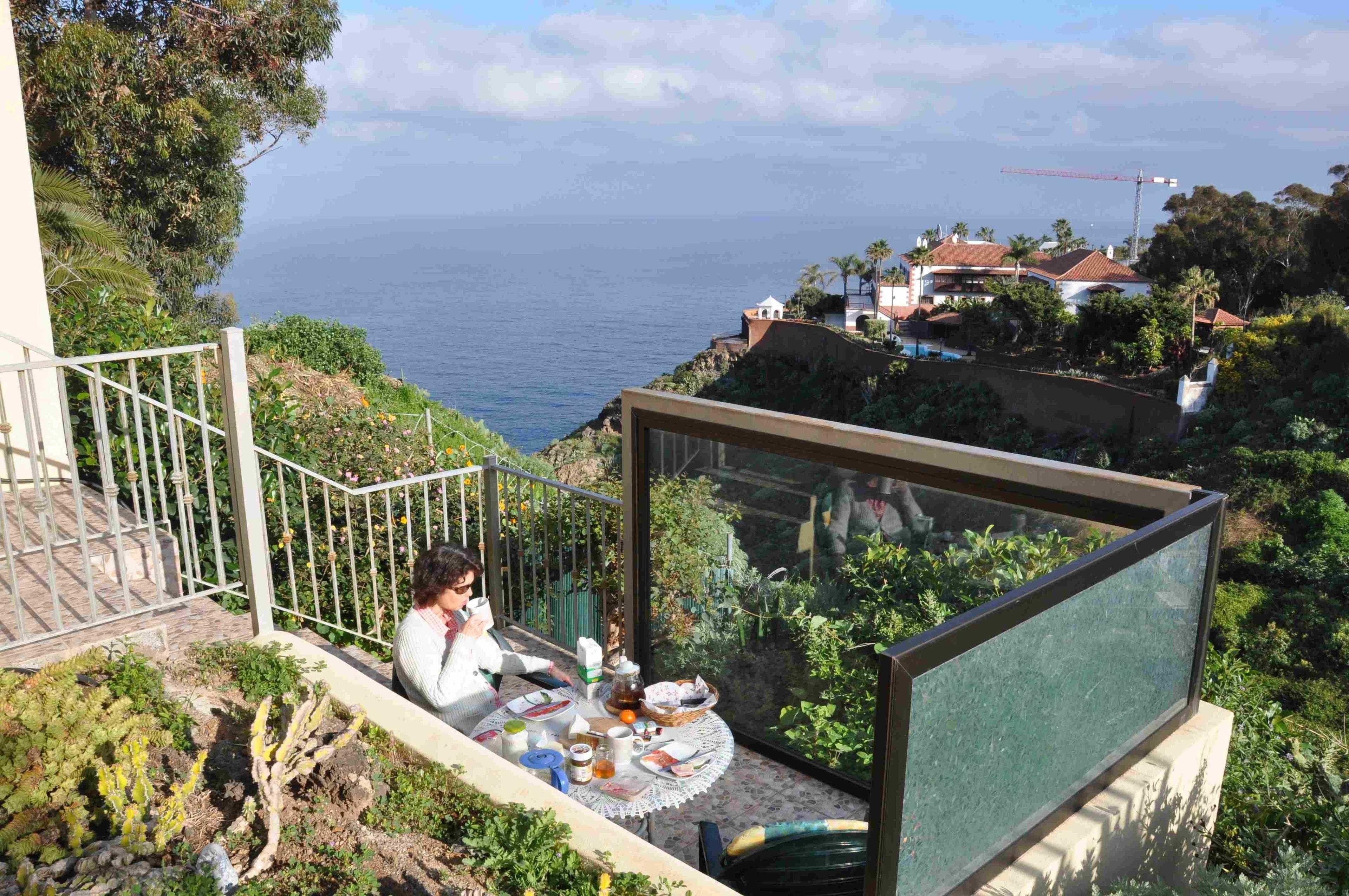 Appartement de vacances Fewo Rocamar, auf dem Felsen über dem Meer mit toller Sicht, 2 Terrassen, Pool, Grill und  (2492985), Santa Ursula, Ténérife, Iles Canaries, Espagne, image 10
