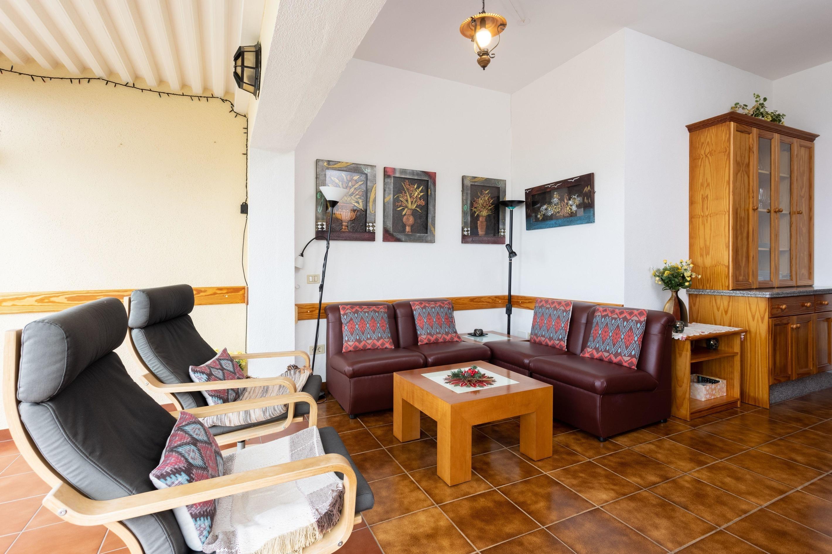 Appartement de vacances Fewo Solymar, mit 2 Schlafzimmern, 2 Bädern, eigener Terrasse und Garten, Meerblick, Pool, (2492986), Santa Ursula, Ténérife, Iles Canaries, Espagne, image 2