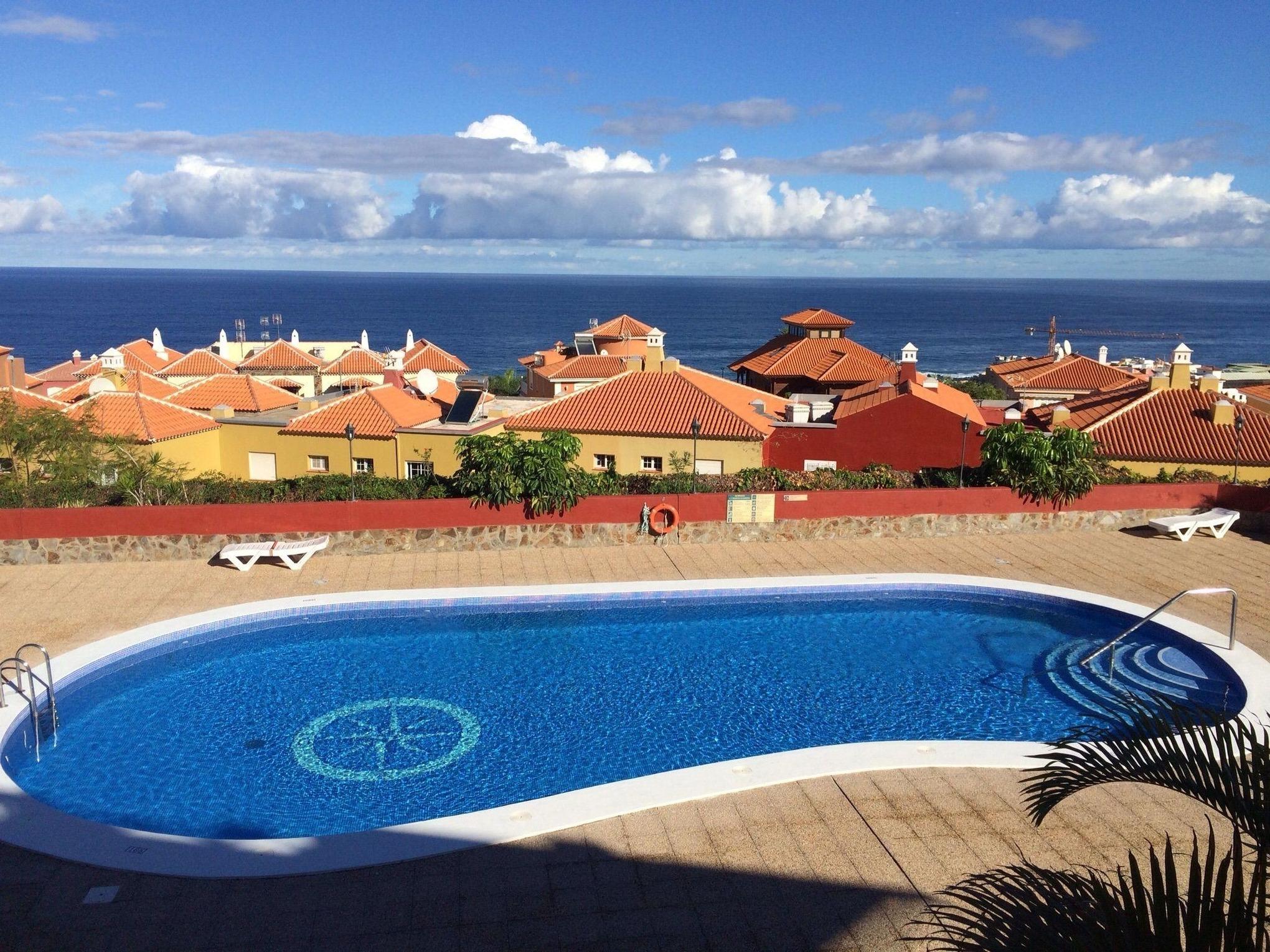 Appartement de vacances Fewo Playamar Romantico, Nähe Strand, toller Meerblick, 2 Schlafzimmer, 2 Terrassen, Pool, (2492988), Puerto de la Cruz, Ténérife, Iles Canaries, Espagne, image 1