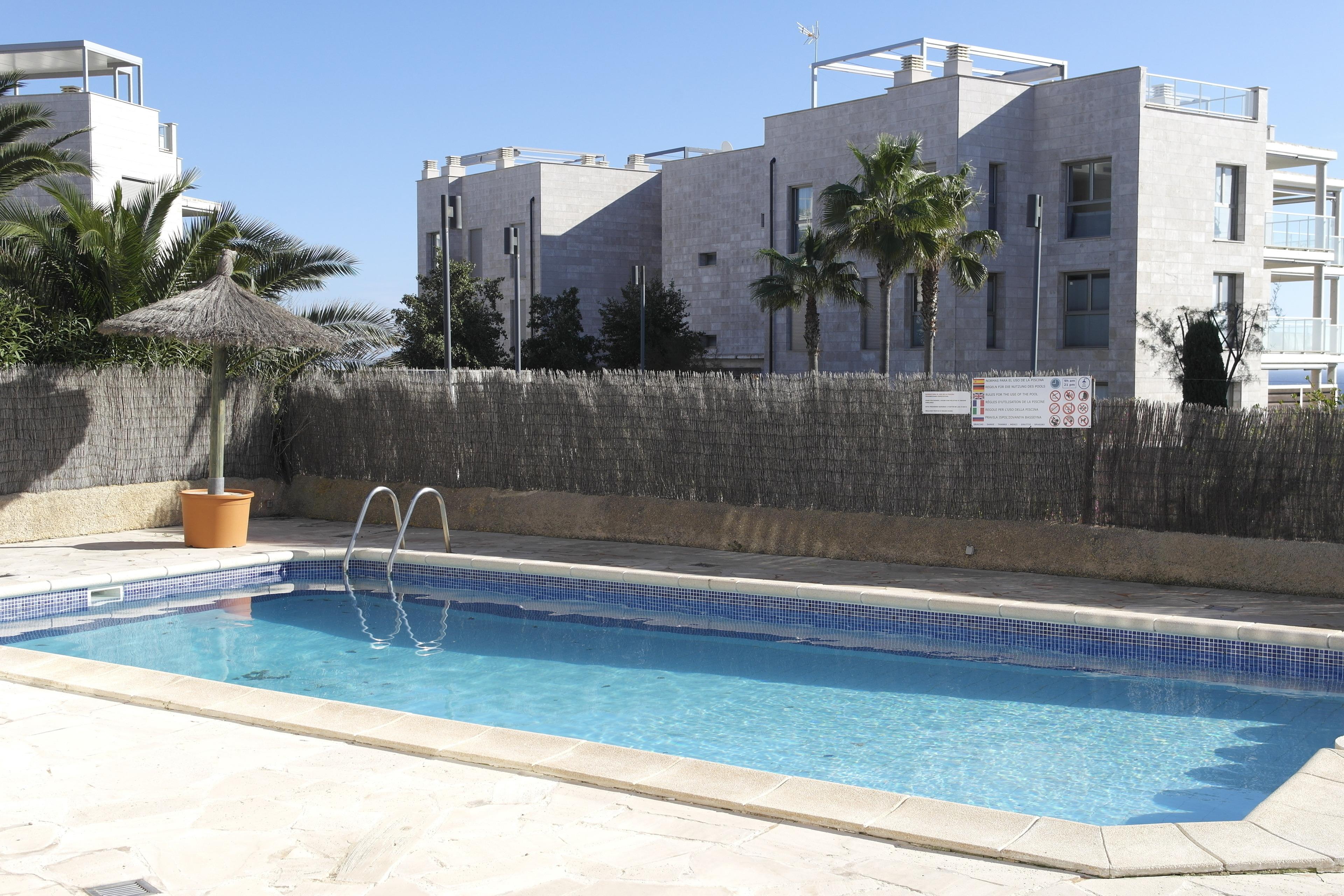 Apartment Balkon Pool 0 2km zum Meer WLAN Küche Tennisplatz