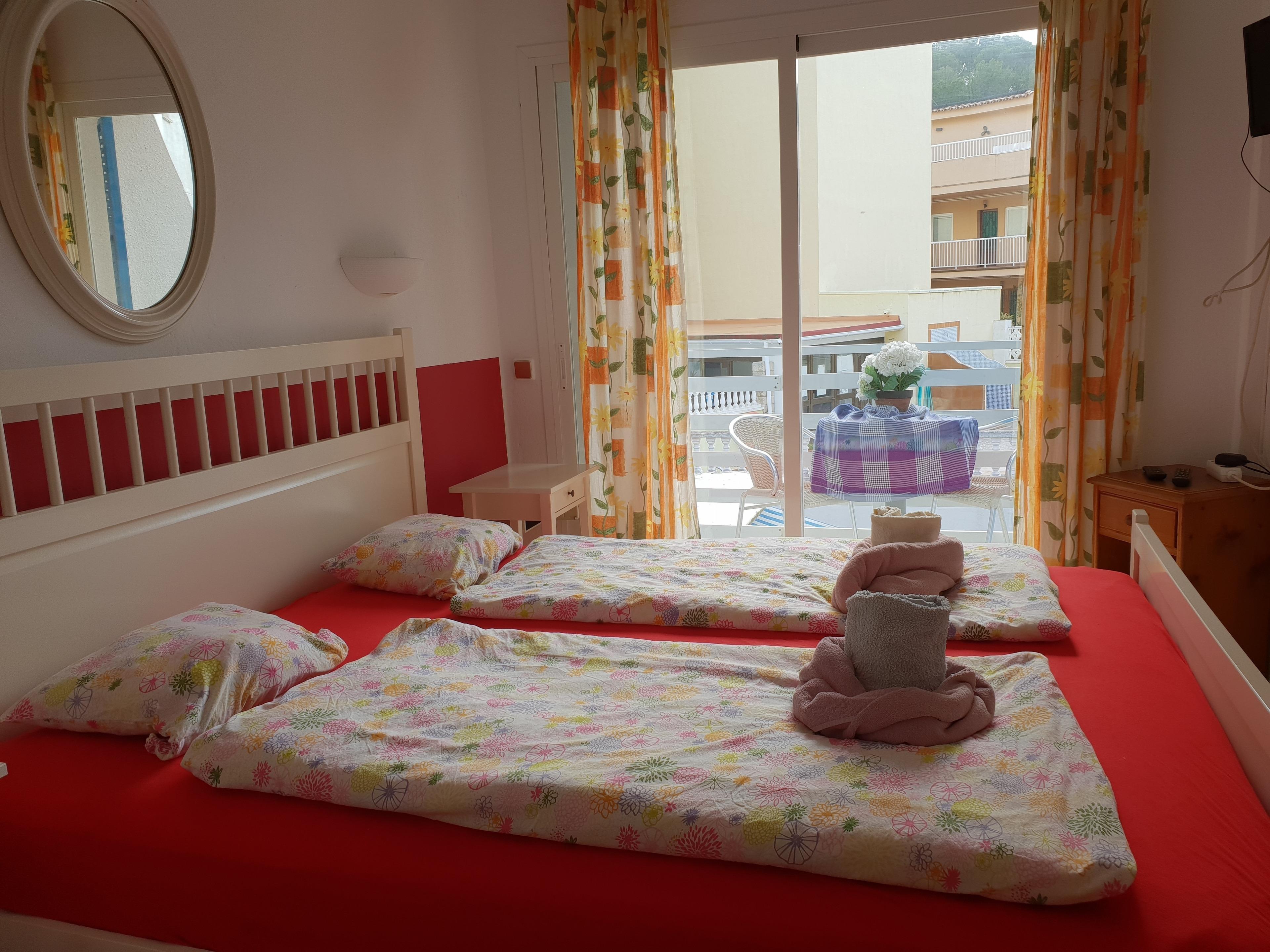 Apartment Studio für 2 Personen mit Balkon Strand in 250m WLAN