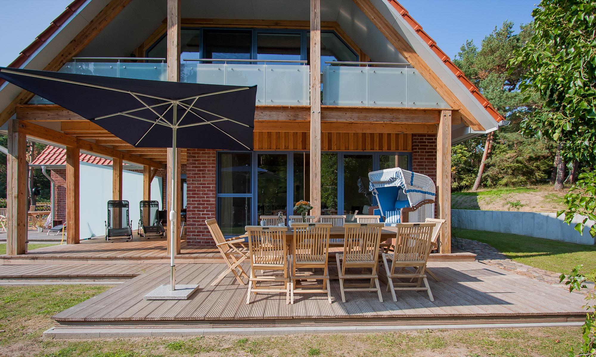 Strandhaus Hühnergott Ferienhaus an der Ostsee