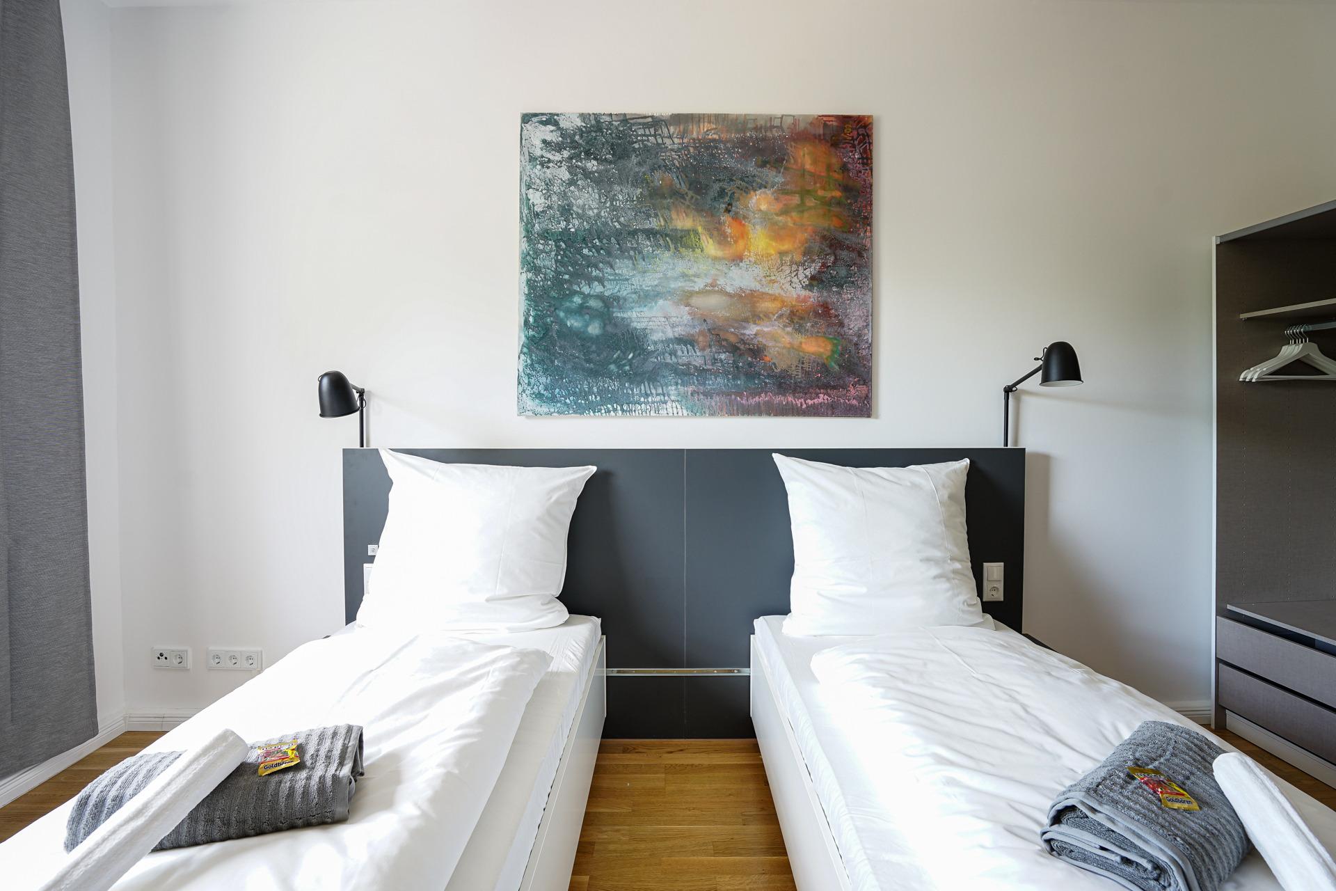 Glück Auf Appartement Holsterhausen Premium A Ferienwohnung  Ruhrgebiet