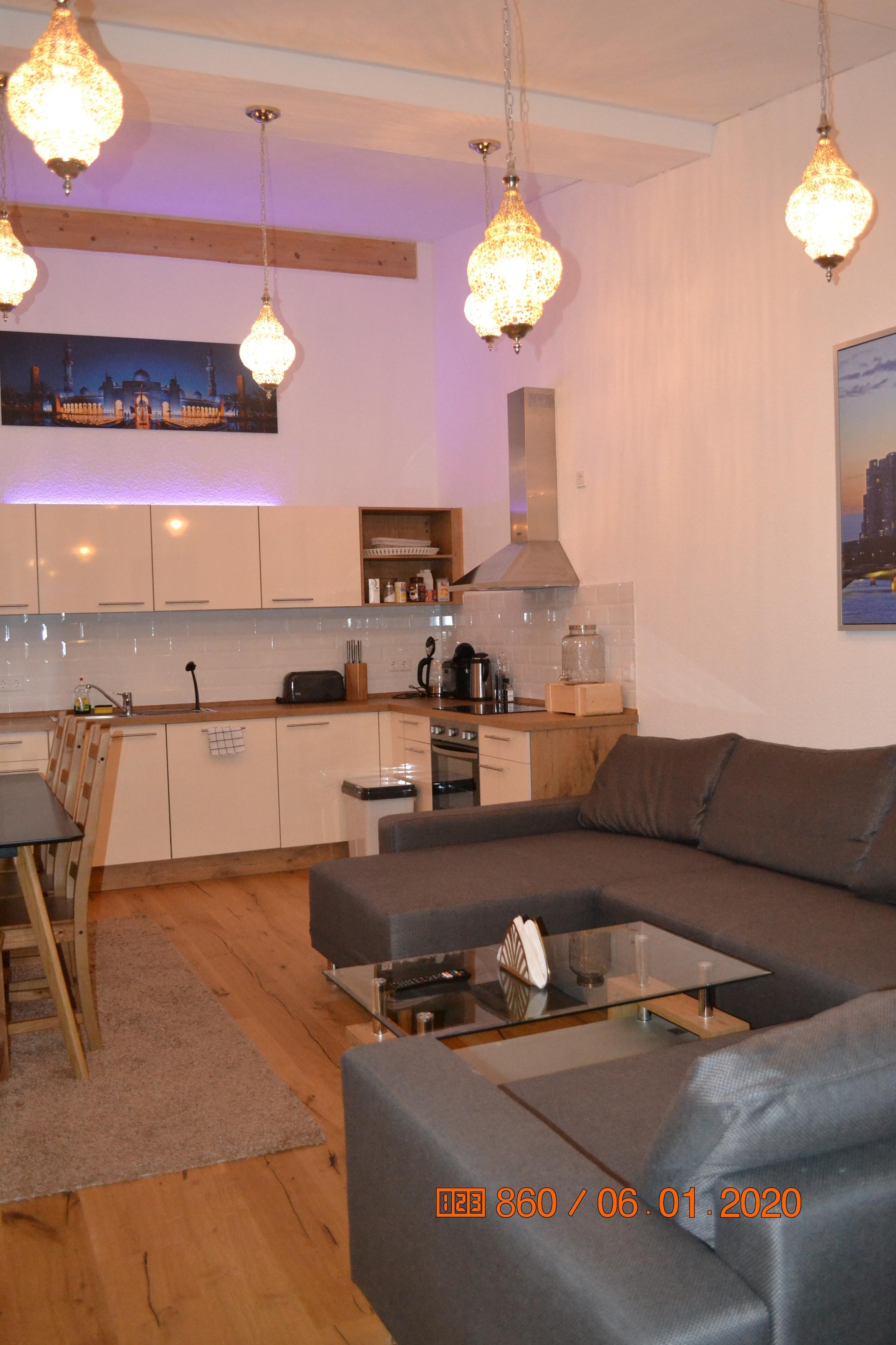 Ferienwohnung Unique Apartment 120 qm+40 qm Terasse (2740563), Frankfurt, Frankfurt am Main, Hessen, Deutschland, Bild 5