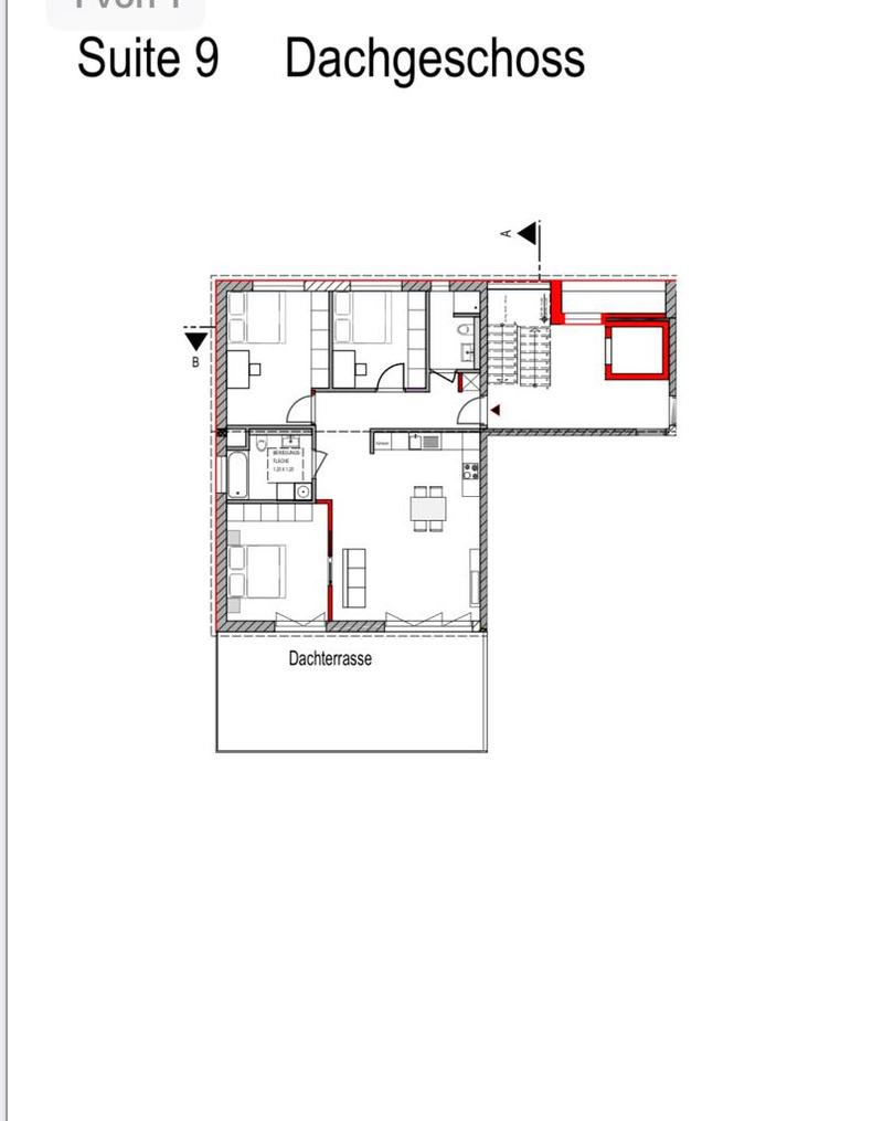Ferienwohnung Unique Apartment 120 qm+40 qm Terasse (2740563), Frankfurt, Frankfurt am Main, Hessen, Deutschland, Bild 9