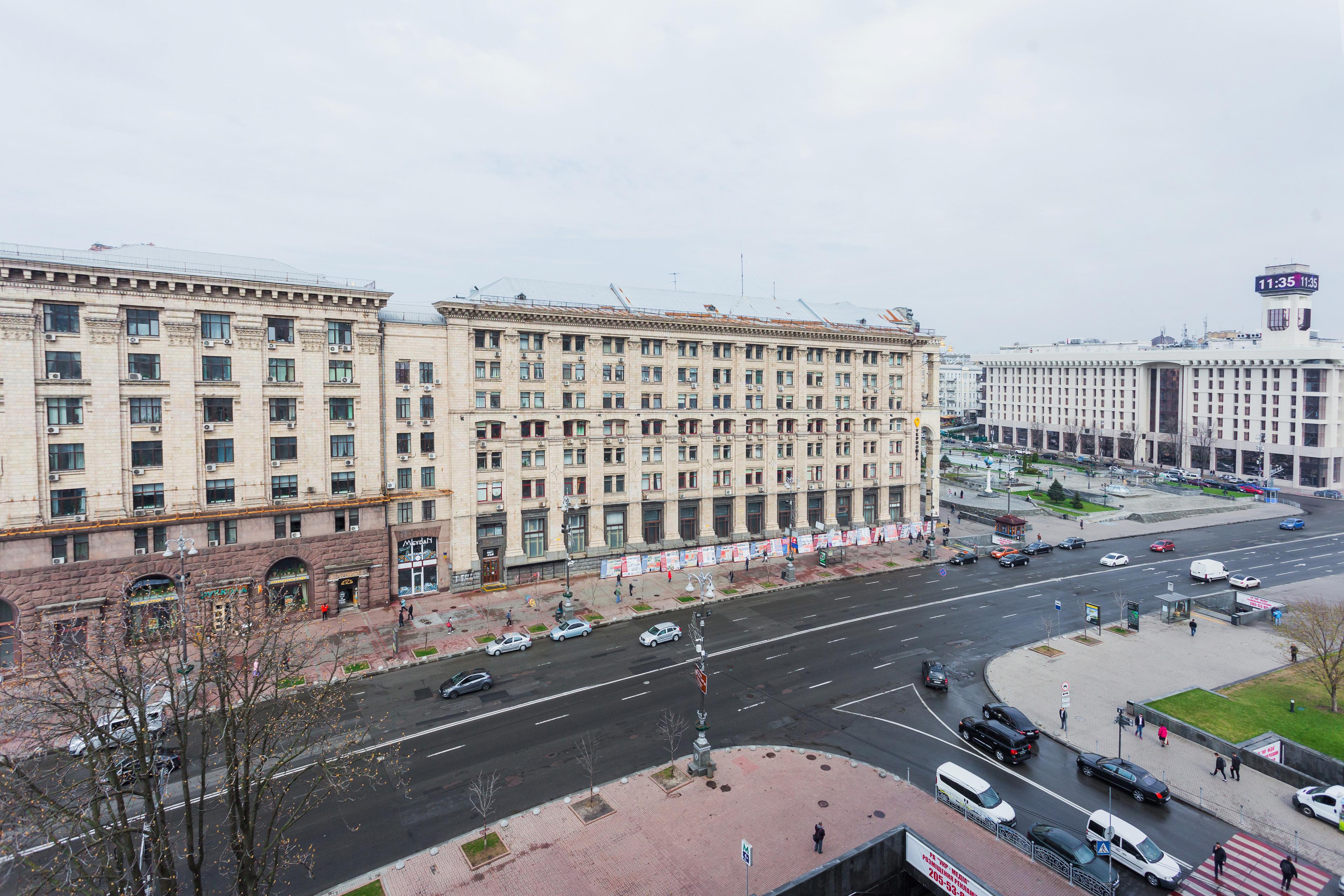 13 Khreschatyk Street Maidan Facing