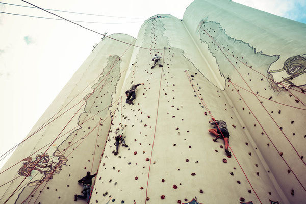 Silo Climbing Fehmarn