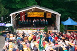 Open-Air Singen der Chöre
