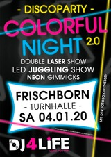 DISCOPARTY COLORFUL NIGHT 2.0